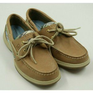Sperry Top Sider Ladies Leather Loafers Shoes 6M